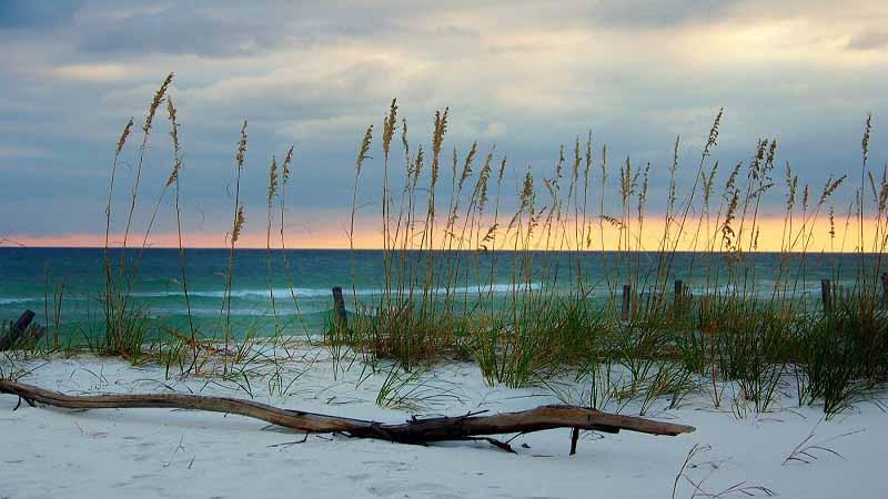 Pensacola white sand beach
