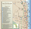 Palm Beach County Visitors Map
